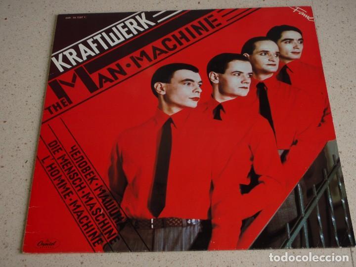 KRAFTWERK ( THE MAN MACHINE ) 1978-HOLANDA LP33 CAPITOL RECORDS (Música - Discos - LP Vinilo - Pop - Rock - Internacional de los 70)