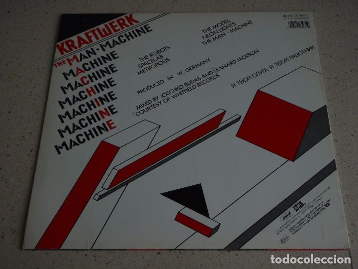 Discos de vinilo: KRAFTWERK ( THE MAN MACHINE ) 1978-HOLANDA LP33 CAPITOL RECORDS - Foto 2 - 80811327
