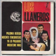Dischi in vinile: LOS LLANEROS / PALOMA HERIDA + 3 (EP 1965). Lote 80811903
