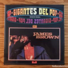 Discos de vinilo: JAMES BROWN GIGANTES DEL POP VINILO VOL 4 LP DISCO NUEVO. Lote 80812959