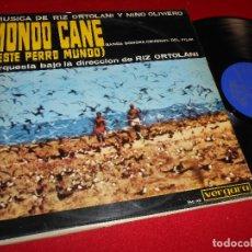 Discos de vinilo: MONDO CANE BSO OST LP 1964 VERGARA EDICION ESPAÑOLA SPAIN ORTOLANI&OLIVIERO. Lote 80816907