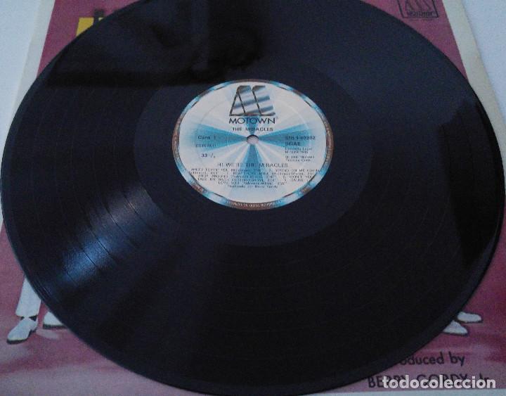 Discos de vinilo: the miracles..Hi were the miracles.(motown 1985).spain - Foto 3 - 80817775