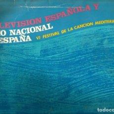 Discos de vinilo: LP EN DIRECTO FRIDA BOCCARA, GEORGIE DANN, LUCIA ALTIERI, JORGE TEIJON, WILMA GOICH, KLIO DENARDU . Lote 80826871