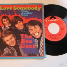 Discos de vinilo: BEE GEES TO LOVE SOMEBODY SINGLE MADE IN FRANCE. Lote 80829039