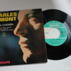 Discos de vinilo: CHARLES DUMONT MON CHEMIN EP MADE IN FRANCE. Lote 80831899