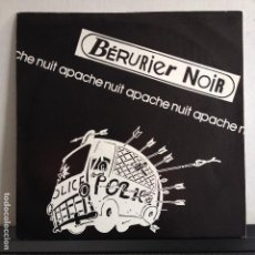 Discos de vinilo: BERURIER NOIR - NUIT APACHE / JIM LAJUNGLE - PROMO 1988. Lote 80847795