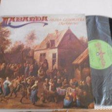 Discos de vinilo: LABANDA-LP FIESTA CAMPESTRE-PORT.ABIERTA,1981. Lote 80865783