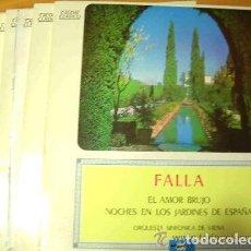 Discos de vinilo: CAUDAL CLASICO (LOTE DE 35 DISCOS DIFERENTES). Lote 80866783