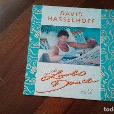 Discos de vinilo: DAVID HASSELHOFF-DO THE LIMBO DANCE.MAXI ESPAÑA. Lote 80866939