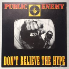 Discos de vinilo: SINGLE (PROMOCIONAL)PUBLIC ENEMY. Lote 80871067