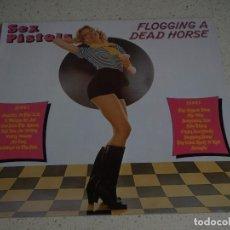 Discos de vinilo: SEX PISTOLS ( FLOGGING A DEAD HORSE ) 1979-GERMANY LP33 VIRGIN RECORDS. Lote 80872031