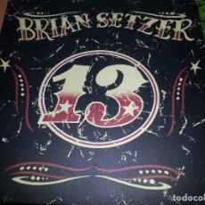 Discos de vinilo: BRIAN SETZER-13-LP-GERMANY-2006-COMO NUEVO. Lote 80877435