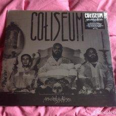 Discos de vinilo: COLISEUM - ANXIETY'S KISS 12'' LP NUEVO Y PRECINTADO - HARDCORE POST PUNK. Lote 80878655
