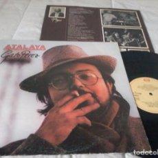 Discos de vinilo: GATO PEREZ - ATALAYA - LP - 1981 - CON ENCARTE. Lote 80891611