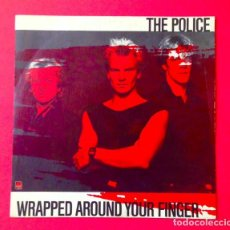 Discos de vinilo: THE POLICE - WRAPPED AUROUND YOUR FINGER - DISCO SINGLE 1983. Lote 80892223