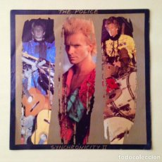Discos de vinilo: THE POLICE - SYNCHRONICITY II - DISCO SINGLE 1983. Lote 80892579