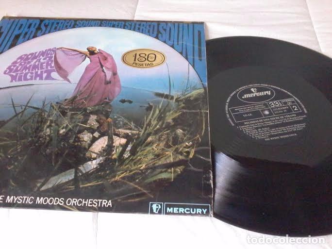 THE MYSTIC MOODS ORCHESTRA - MELODÍAS DE UNA NOCHE DE VERANO - LP MERCURY RECORDS SPAIN 1968) (Música - Discos - LP Vinilo - Orquestas)