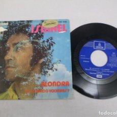 Discos de vinilo: SINGLE ISMAEL. ALONDRA- DI ¿CUANDO VOLVERÁS?. Lote 80910196