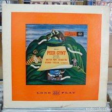 Discos de vinilo: ARTHUR FIEDLER. PEER GYNT. BOSTON POPS ORCHESTRA. RCA. LP. Lote 80922452