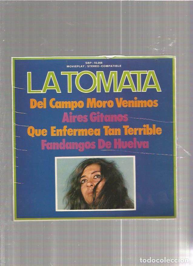 LA TOMATA DEL CAMPO MORO (Música - Discos - LP Vinilo - Solistas Españoles de los 50 y 60)