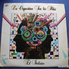 Discos de vinilo: LA ORQUESTINA SON LES POLES - EL INDIANO - LP - TECHNO - CANCION ASTURIANA 1986 ASTURIAS. Lote 80932820