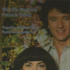 Discos de vinilo: MIREILLE MATHIEU Y PATRICK DUFFY ÑAXI-SINGLE SELLO ARIOLA AÑO 1983 EDITADO EN FRANCIA. Lote 80933456