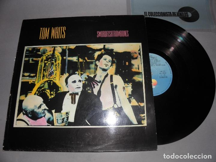 TOM WAITS- SWORDFISHTROMBONES - SPANISH LP 1983 (Música - Discos - LP Vinilo - Cantautores Extranjeros)