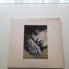 Discos de vinilo: TEMPLO - LUIS EDUARDO AUTE - 1987 - DOBLE LP -ALBUM GATEFOLD . Lote 80942200