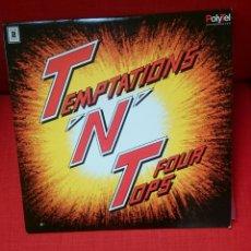 Discos de vinilo: THE TEMPTATIONS & FOUR TOPS-T'N'T. 2LP CANADÁ. Lote 80954787
