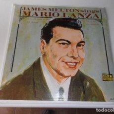 Discos de vinilo: JAMES MELTON SINGS MARIO LANZA -CORONET RECORDS USA CX 221-. Lote 80960340