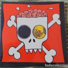Discos de vinilo: CEREBROS EXPRIMIDOS – KILL THE POPE 2 X 7 EP. Lote 80961908