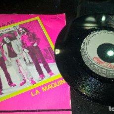 Discos de vinilo: MUSICA SINGLE ROCK TRAFALGAR LA MAQUINA - BUEN ESTADO DIFICIL ERROR IMPRESION. Lote 80999280