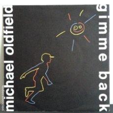 Discos de vinilo: MICHAEL OLFIELD - GIMME BACK - NUEVO ALEMAN. Lote 81004348