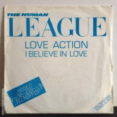 Discos de vinilo: THE HUMAN LEAGUE - LOVE ACTION - NUEVO PROMO 1991. Lote 81013920