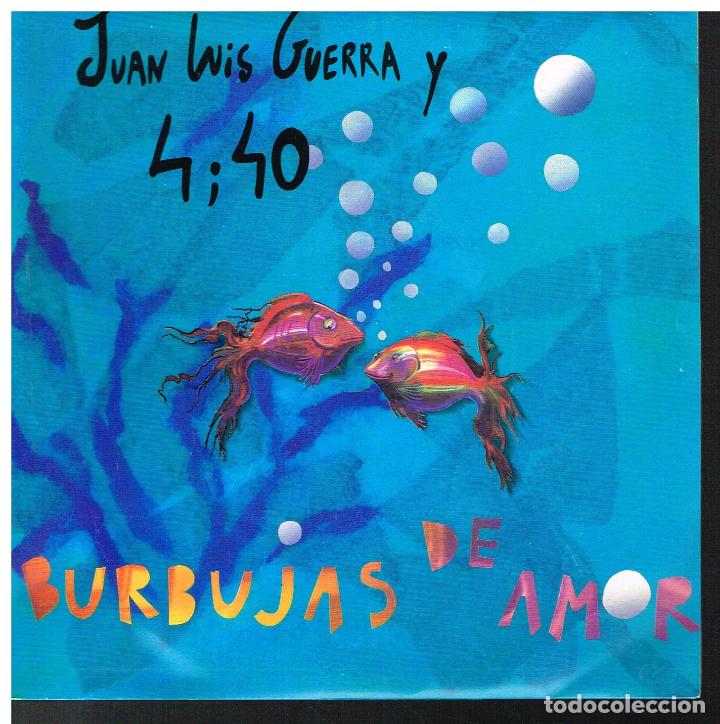 Juan Luis Guerra Burbujas De Amor A Pedir S Sold Through Direct Sale 81019268