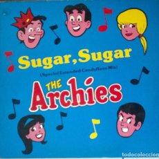 Discos de vinilo: ARCHIES. SUGAR, SUGAR. AVC, ESP. 1987 (MAXI LP) . Lote 81027240