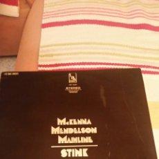 Discos de vinilo: MCKENNA, MENDELSON MAINLINE STINK. Lote 81034702