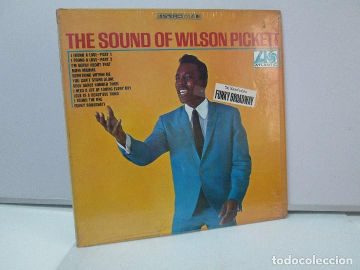 THE SOUND OF WILSON PICKETT. DISCO VINILO. ATLANTIC 1967. VER FOTOGRAFIASADJUNTAS (Música - Discos - Singles Vinilo - Funk, Soul y Black Music)