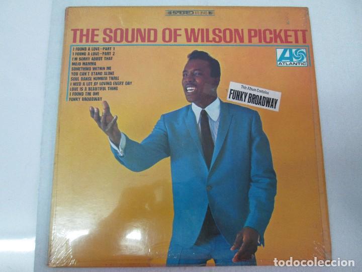 Discos de vinilo: THE SOUND OF WILSON PICKETT. DISCO VINILO. ATLANTIC 1967. VER FOTOGRAFIASADJUNTAS - Foto 2 - 81036560