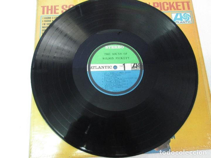 Discos de vinilo: THE SOUND OF WILSON PICKETT. DISCO VINILO. ATLANTIC 1967. VER FOTOGRAFIASADJUNTAS - Foto 3 - 81036560