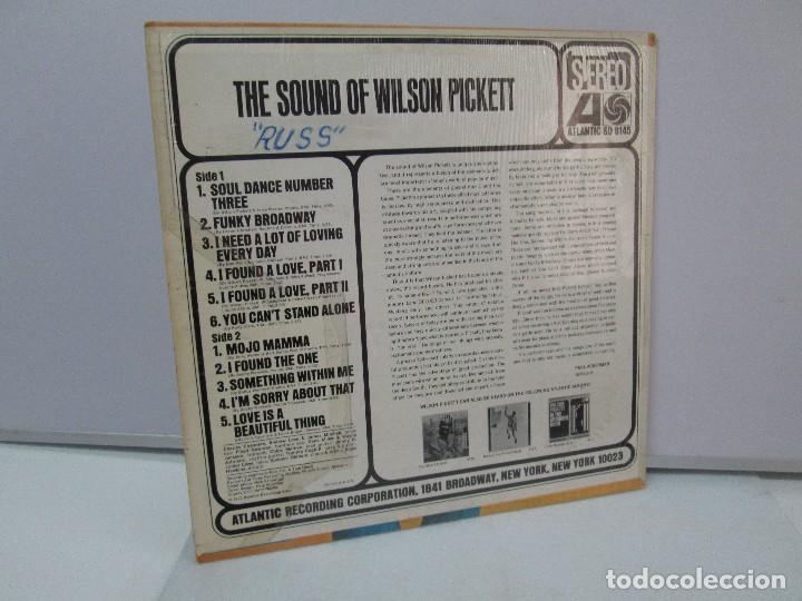 Discos de vinilo: THE SOUND OF WILSON PICKETT. DISCO VINILO. ATLANTIC 1967. VER FOTOGRAFIASADJUNTAS - Foto 7 - 81036560