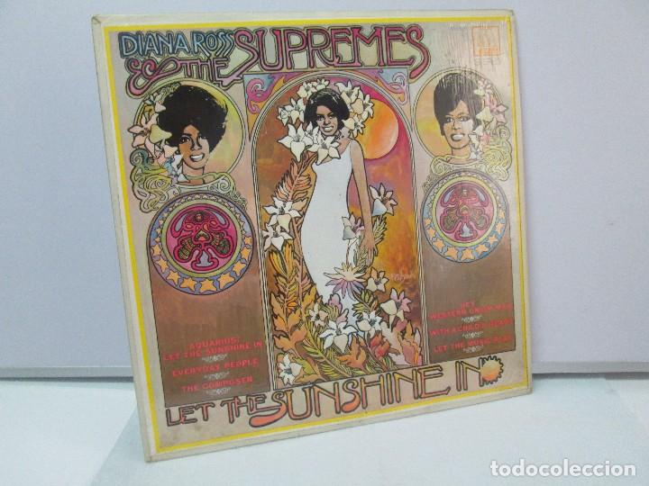 DIANA ROSS AND THE SUPREMES. LET THE SUNSHINE IN. MOTOWN 1969. VER FOTOGRAFIAS ADJUNTAS (Música - Discos - Singles Vinilo - Funk, Soul y Black Music)