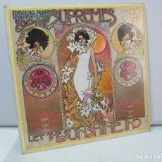 Discos de vinilo: DIANA ROSS AND THE SUPREMES. LET THE SUNSHINE IN. MOTOWN 1969. VER FOTOGRAFIAS ADJUNTAS. Lote 81037336