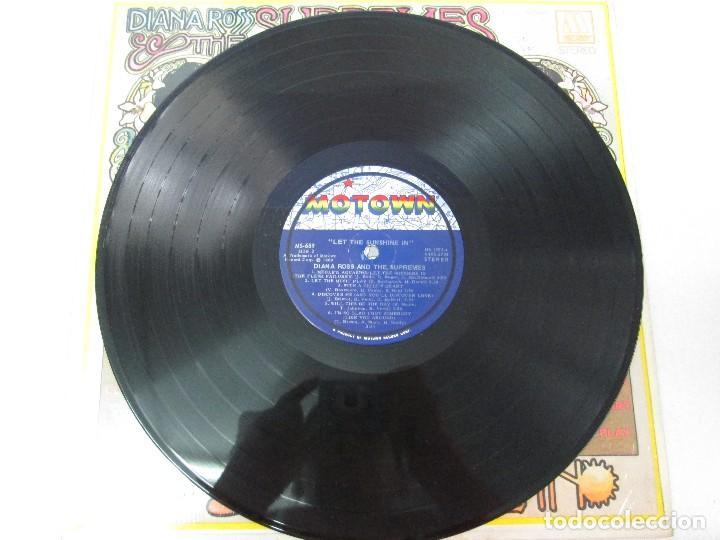 Discos de vinilo: DIANA ROSS AND THE SUPREMES. LET THE SUNSHINE IN. MOTOWN 1969. VER FOTOGRAFIAS ADJUNTAS - Foto 4 - 81037336