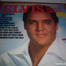 Discos de vinilo: LP DE ELVIS PRESLEY, IT'S NOW OR NEVER. EDICION CAMDEN DE 1981 (UK). RARA.. Lote 81038120
