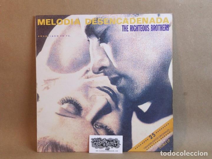 THE RIGHTEOUS BROTHERS-MELODIA DESENCADENADA- DOBLE LP- SPAIN 1991-NM/VG+ (Música - Discos - LP Vinilo - Pop - Rock Extranjero de los 50 y 60)