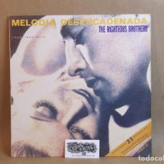 Discos de vinilo: THE RIGHTEOUS BROTHERS-MELODIA DESENCADENADA- DOBLE LP- SPAIN 1991-NM/VG+. Lote 81039092