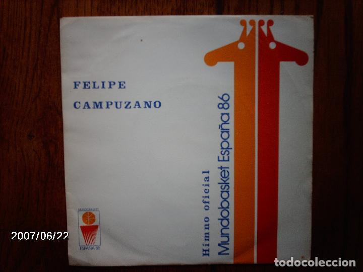 FELIPE CAMPUZANO - HIMNO OFICIAL MUNDOBASKET ESPAÑA 86 (Música - Discos - Singles Vinilo - Orquestas)