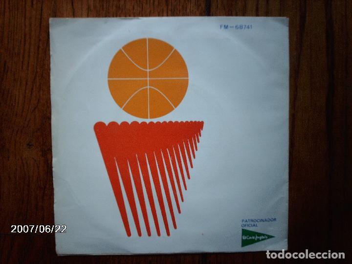 Discos de vinilo: felipe campuzano - himno oficial mundobasket españa 86 - Foto 2 - 81040020