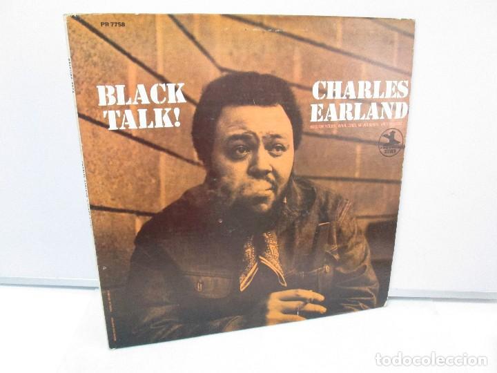 BLACK TALK! CHARLES EARLAND. DISCO VINILO. PRESTIGE RECORDS,1970. VER FOTOGRAFIAS ADJUNTAS. (Música - Discos - Singles Vinilo - Funk, Soul y Black Music)